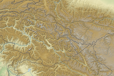 Location map Karakoram