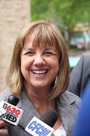Edmonton municipal election, 2013 - Image: Karen Leibovici 2013