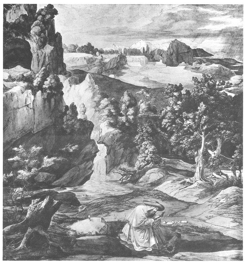 Karl Philipp Fohr San Benedetto bei Subiaco.jpg