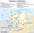 Karte der Freikirchengemeinden in Ostfriesland.png