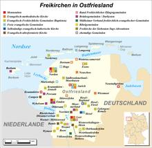 Ostfriesische Nordseeküste Karte.Ostfriesland Wikipedia