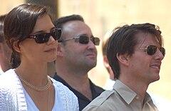 Katie Holmes Wikipedia on Katie Holmes Et Son Ex Mari Tom Cruise En Juin 2009
