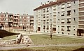 Kazincbarcika 1964, Béke tér. Fortepan 21050.jpg