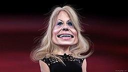 Kellyanne Conway - Caricature (32764762586)
