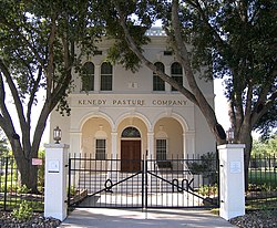 The Kenedy Pasture Company Headquarters in Sarita