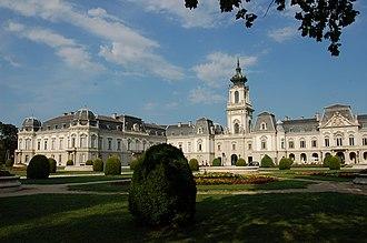 Festetics Palace - The garden front