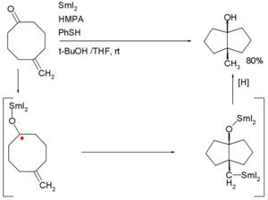 Annulation - Ketone olefin cyclization