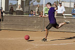 Kickin' it with the wing, Committed and Engaged Spouses hold kickball tournament 140614-M-YG675-059.jpg
