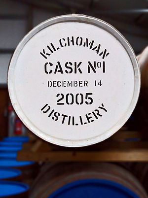Cask strength - Kilchoman - an Islay Scotch whisky in the cask