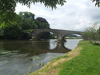 Kilsheelan - Image: Kilsheelan Bridge on the River Suir geograph.org.uk 1398661