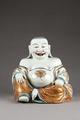 Kinesisk terrin som buddafigur från 1730. Föreställande den skrattande feta Budda - Hallwylska museet - 95997.tif