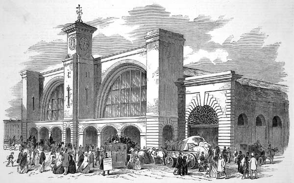 Kings Cross ILN 1852
