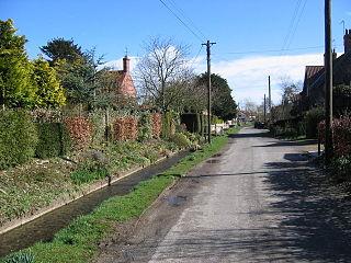 Kirby Grindalythe village in United Kingdom
