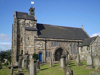 Kirkliston village west of Edinburgh, Scotland, UK