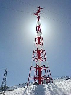 Aerial lift pylon