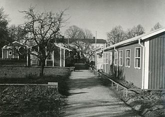 Kjesäter - Refugee camp during World War II.