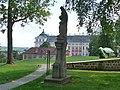 Klášter Broumov, klášterní zahrada 05.jpg