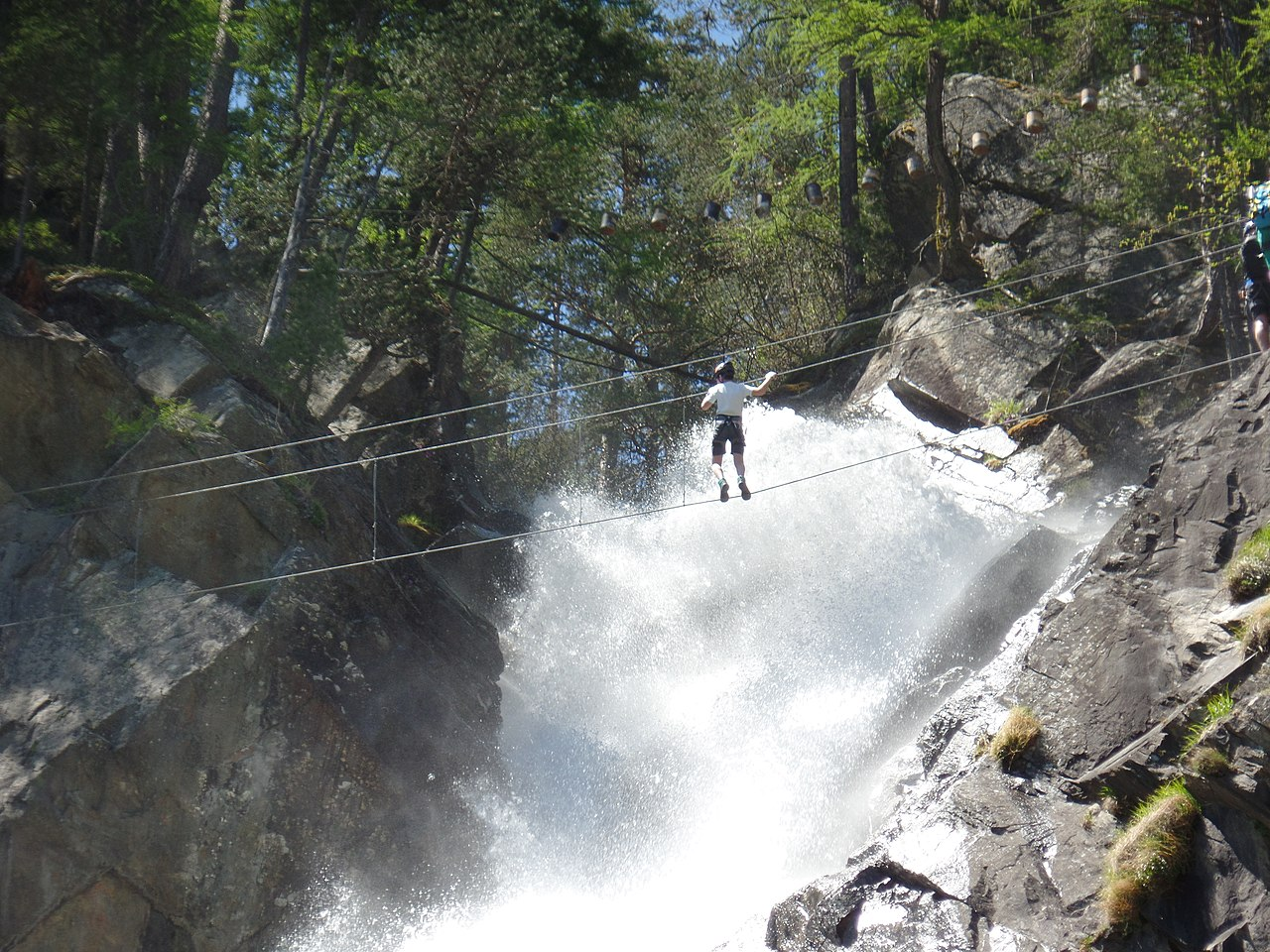 Klettersteig Lehner Wasserfall : Datei:klettersteig lehner wasserfall panoramio 7 .jpg u2013 wikipedia