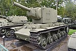 Kliment Voroshilov KV-2 (s-n 4744) - Central Armed Forces Museum, Moscow (27083660079).jpg