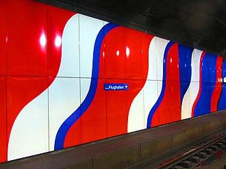 Zürich Airport railway station - Image: Kloten Flughafen Bahnhof 2011 12 25 17 17 40 (SX230)