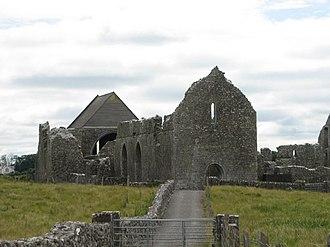 Abbeyknockmoy - Ruins of the 12th century Cistercian Knockmoy Abbey