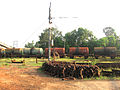 Kochi Refinery Irumpanam Rail Line.JPG