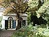 Koetshuis, schuur en tuinmuur