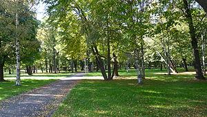 Kopli cemetery - Image: Kopli park 020