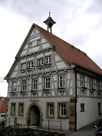 Korb - Korb Württemberg Town hall