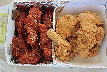 Korean fried chicken - Wikipedia