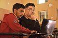 Koustav Dutta with Ashwin Baindur - Wikipedia Academy - Bhaskaracharya Hall - Indian Institute of Technology - Kharagpur - West Midnapore 2015-01-24 5007.JPG