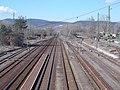 Kovácspataki-hegyek, Sávoly-híd, vasútállomás, 2020 Szob.jpg