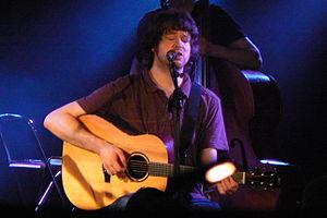 Kris Drever - Drever performing live