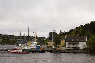 Marvika - Image: Kristiansand, Redningsselskapets base i Marvika
