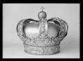 Krona tillhörande kröningsvagn, 1696-1699; 1751 - Livrustkammaren - 10065.tif
