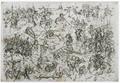Kupferstich - Zeitgenössische Darstellung der Schlacht von Hiltersried - um 1435.png