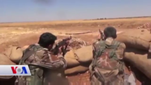 Kurdish Front fighters near Harbul.png
