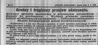 Vilnius school massacre