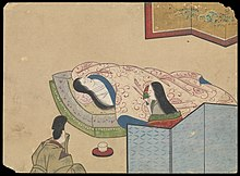Kusozu; the death of a noble lady and the decay of her body. Wellcome L0070289.jpg