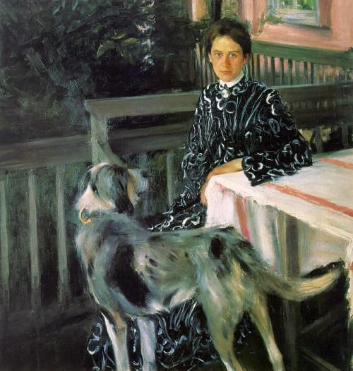 Kustodiev Portrait Of Wife