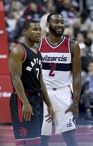 Kyle Lowry - Lowry and John Wall in 2016.