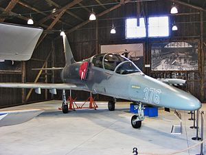 Aero L-159 Alca - The first L-159 prototype (5831) in the Prague Aviation Museum