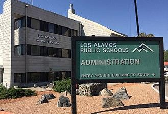 Los Alamos Public Schools - Los Alamos Public Schools Administrative Offices.