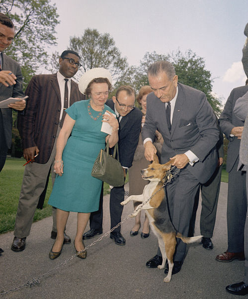 File:LBJ Lifts Dog By Ears-C311-7-64.jpg