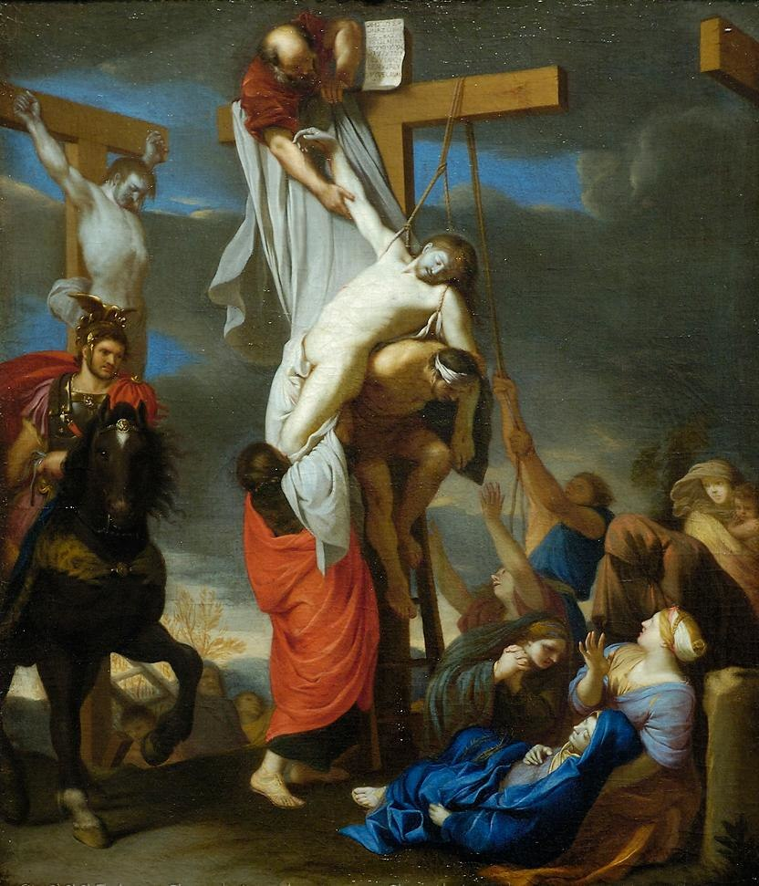 LE BRUN Charles The Descent from the Cross