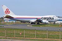 LX-TCV - B744 - Cargolux