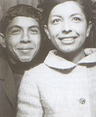 Kāveh Golestān and his sister, Lili Golestān