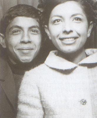 Kaveh Golestan - Kāveh Golestān and his sister Lili