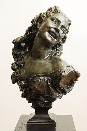Latvian Museum of Foreign Art - Image: La bacchante aux roses de Carpeaux