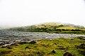Lagoa do Landroal, as brumas descem a serra, concelho das Lajes do Pico, ilha do Pico, Açores, Portugal.JPG